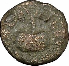 ELAGABALUS Ancient Roman Coin Olympic-style games prize urn Palm branch i48363