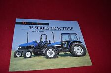New Holland Tractor 4835 5635 6635 7635 Tractor Dealer's Brochure 33483540 LCOH