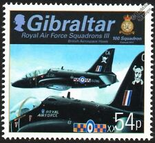 RAF No.100 Squadron BAE HAWK T1 Trainer Jet Aircraft Stamp (Gibraltar)