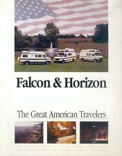 International Vehicles Falcon Horizon Prospekt 1993 Motor Home Reisemobil USA