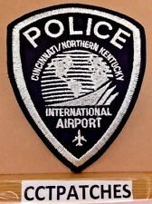 CINCINNATI NORTHERN KENTUCKY, OHIO INTERNATIONAL AIRPORT POLICE PATCH OH