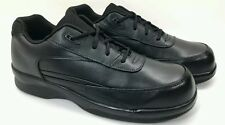 APEX Ambulator Black Comfort Diabetic Orthopedic Comfort Lace Up Shoe Men 1