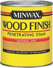 NEW MINWAX NATURAL QUART INTERIOR OIL BASED WOOD FINISH STAIN 8964983