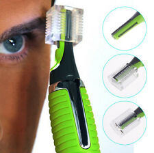 Men's Nose Ear Face Neck Eyebrow Hair Mustache Beard Trimmer Shaver Clipper