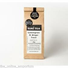 80g SUKI LEMONGRASS & GINGER LOOSE LEAF TEA - AWARD WINNING CAFFEINE FREE