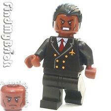 BM112 Lego Custom Minifigure with War Machine Rhodey Dual Sided Faces Head NEW