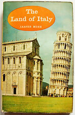 THE LAND OF ITALY Jasper More 1961 Photos Map Index Batsford Paperback VGC