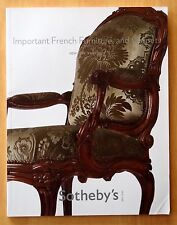 Important French Furniture & Carpets 2009 Sotheby's Auction Catalogue