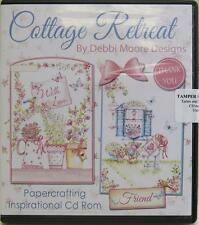 Debbi Moore Designs Cottage Retreat Papercrafting CD Rom (324781)