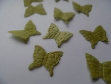 100 SAGE GREEN BUTTERFLY SILK PETAL/WEDDING/TABLE/CONFETTI/DECORATION