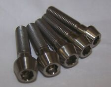 5x Titanium M8 x 35mm Cone Allen Socket Head Bolts Light Weight