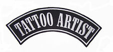 Tattoo Artist Patch Rocker Biker Motorcycle Patches for Vest Jacket size 11""