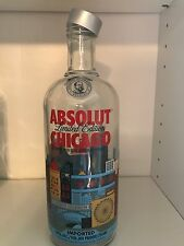 Absolut Vodka Chicago Empty - No alcohol