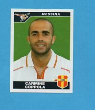 PANINI CALCIATORI 2004-05- Figurina n.281- COPPOLA - MESSINA -NEW