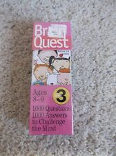 Brain Quest Grade 3 Ages 8-9 Deck One & Deck Two