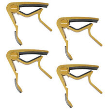 Neewer Golden Capo Quick Change for Electric or Acoustic 6-String Guitar(4 Pack)