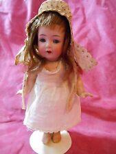 """Antique Doll 8"""" Kammer & Reinhardt Simon Halbig #126 Toddler Starfish K*R Bisque"""