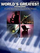 World's Greatest Standards: Piano/Vocal/Chords (World's Greatest Music), , Accep