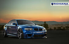 20x9 +35 20x11 +28 Rohana RC22 5x120 Graphite Wheels Fit Bmw 135 2012 Staggered