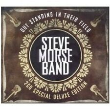 """STEVE MORSE """"OUT STANDING & LIVE FROM..."""" 2 CD NEW+"""