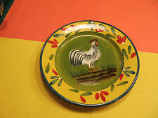 """Style-Eyes Baum Bros. Plates Rooster & Hen 8 1/4"""""""