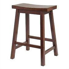 Winsome Saddle Seat 24  Counter Stool Walnut 94084  sc 1 st  eBay & Craftsman Work Shop Counter Stool Black Adjustable Hydraulic Seat ... islam-shia.org