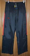Men's Performance Athletic Pants UNDER ARMOR NWT LARGE Cold Gear Black/Red