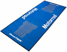 For BMW R 80 G/S Biketek Series 3 Blue White Motorrad Workshop Garage Pit Mat