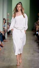 TIBI  Carwash Belted Midi Skirt size 2 Original $425