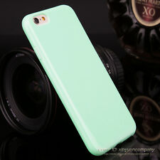 Slim Candy TPU Silicone Rubber Soft Back Case Cover For iPhone 5c SE 5 6s 7 Plus
