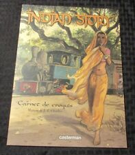 INDIAN DREAMS Carnet De Croquis by Maryse & Charles SC NM FRENCH Casterman