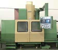 MORI SEIKI MV55/50 CNC VERTICAL MACHINING CENTER 4 AXIS VMC - HAAS MAZAK MV MILL