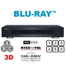 Oppo BDP-103 EU 3D 4K DVD Multi Region Free A B C & (1-8) Blu-Ray Player