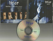 Breaking Benjamin Members LIFER Boring PROMO  Radio DJ CD Single 2001 MINT