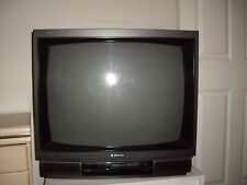 "EMERSON 32"" Old  TV with White TV stand"
