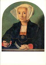 Alte Kunstpostkarte - Barthel Bruyn d.Ä. - Bildnis einer Patrizierin