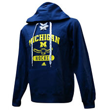 MICHIGAN WOLVERINES Sx L Hockey Hooded Sweatshirt