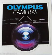 Aufkleber OLYMPUS CAMERAS analog Foto Photography 80er Sticker Decal Autocollant