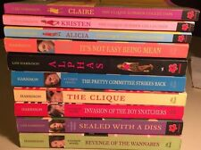 10 Bk Lot~The Clique by Lisi Harrison
