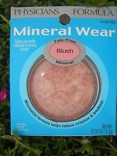 PHYSICIANS FORMULA MINERAL WEAR TALC FREE BLUSH, SENSITIVE SKIN, #2680 ROSY GLOW