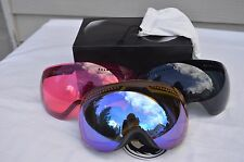 2016 NIB DRAGON APX SNOWBOARD GOGGLES $270 Knight Rider Yellow-Blue/Rose/Black