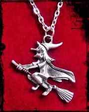 """Zauberhafte """" Hexe Anhänger """" mit Kette - Hexenkette"""