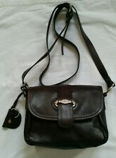 Nica London Genuine Learher Brown Messenger Cross body Handbag bag