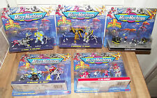 ⭐ mighty morphin power rangers micro machines galoob lot de 5 emballages fermés ⭐