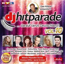 DJ Parade vol.10 CD NUOVO NIC/Andrea MONTAGNA/Roland Kaiser/Fantasy/+