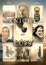 KNIGHT OF CUPS DVD sealed NEW Christian Bale 2016 release