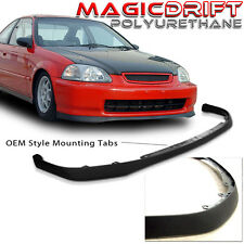 96 97 98 Honda Civic EK OE OEM SiR Front Bumper PU Add-on Lip (Urethane)
