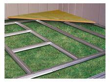 Outdoor Patio Garden Floor Frame Shed Storage Kit Arrow Durable Steel Building
