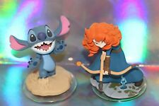 Disney Infinity 2.0 Originals Merida and Stitch Lot of 2 figures ships same day!