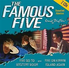 Five Go to Mystery Moor & Five on Kirrin Island Again by Enid Blyton (CD-Audio,